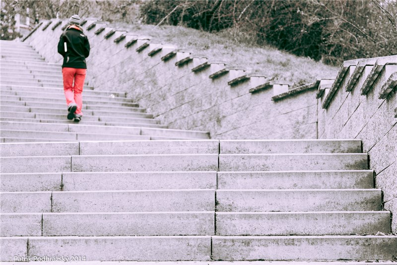 Cestou po schodech