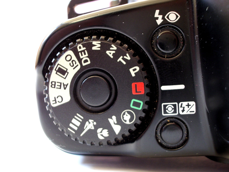 Poloautomatické režimy fotoaparátu