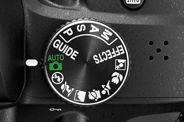 Krátký popis expozičních režimů fotoaparátu